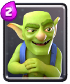 carta goblings clash royale