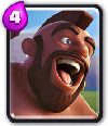 carta montapuercos clash royale
